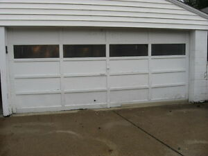 Low clearance low headroom 7 x 16 double garage door 16x7 for 16x7 garage door prices