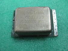 1x Foq Piezo Technik Ptoc32255 10 Mhz Ocxo Crystal Oscillator 10000000mhz