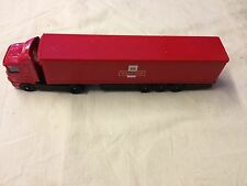CORGI Royal mail camion e CURTAINSIDE TRAILER scala 1:64