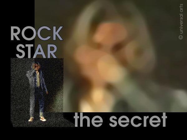 MARIO STRACK  -The Secret Rockstar 2 limitiert Fotografie Original sign. Bilder