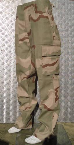 "42/"" NEW Military Style Desert Storm Tri Colour Camo Combat Trousers Size 38/"""