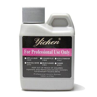 Pro 120ml 4oz Professional Acrylic Liquid for Nail Art False Tips Nail art salon