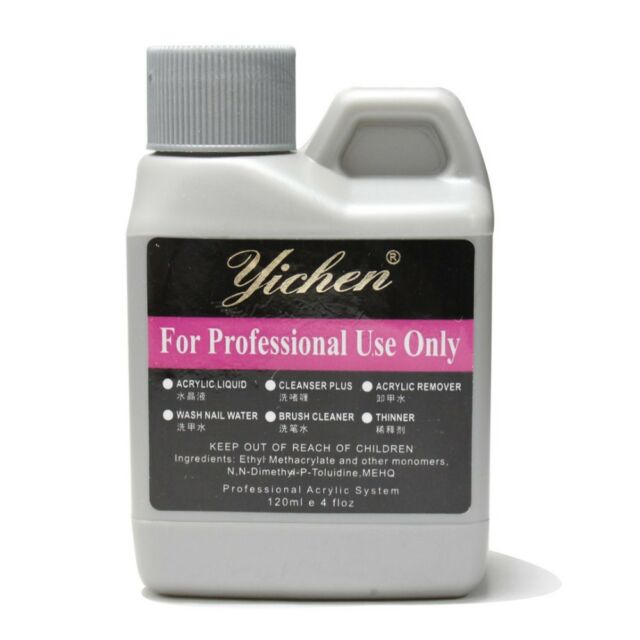 1Pcs Pro 120ml 4oz Professional Acrylic Liquid for False Tips Nail art salon