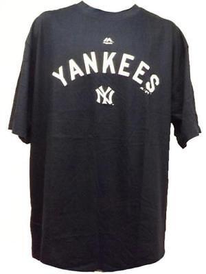 Fanartikel New York Yankees Herrengrößen Xl-2xl-3xl-4xl Groß & Hoch Majestic Shirt Exzellente QualitäT