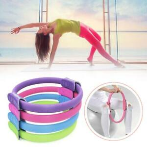 Pilates-Ring-Magic-Circle-Dual-Griff-Sporting-Home-Yoga-Ring-Ubung-Fitness