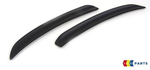 MINI NUOVO geuine F55 F56 JCW PRO REAR SPOILER estensioni MATT BLACK 2339041