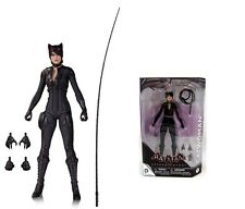 "DC BATMAN ARKHAM KNIGHT VIDEO GAME SERIES 2 CATWOMAN 7"" inch ACTION FIGURE 17cm"
