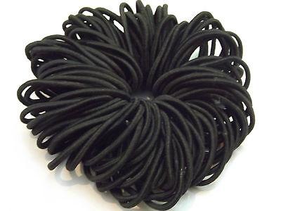50 Quality Thick Endless Snag Free Hair Elastics Bobbles Bands Ponios Mix