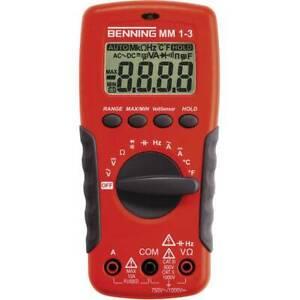 Benning-mm-1-3-multimetro-portatile-digitale-cat-ii-1000-v-iii-600