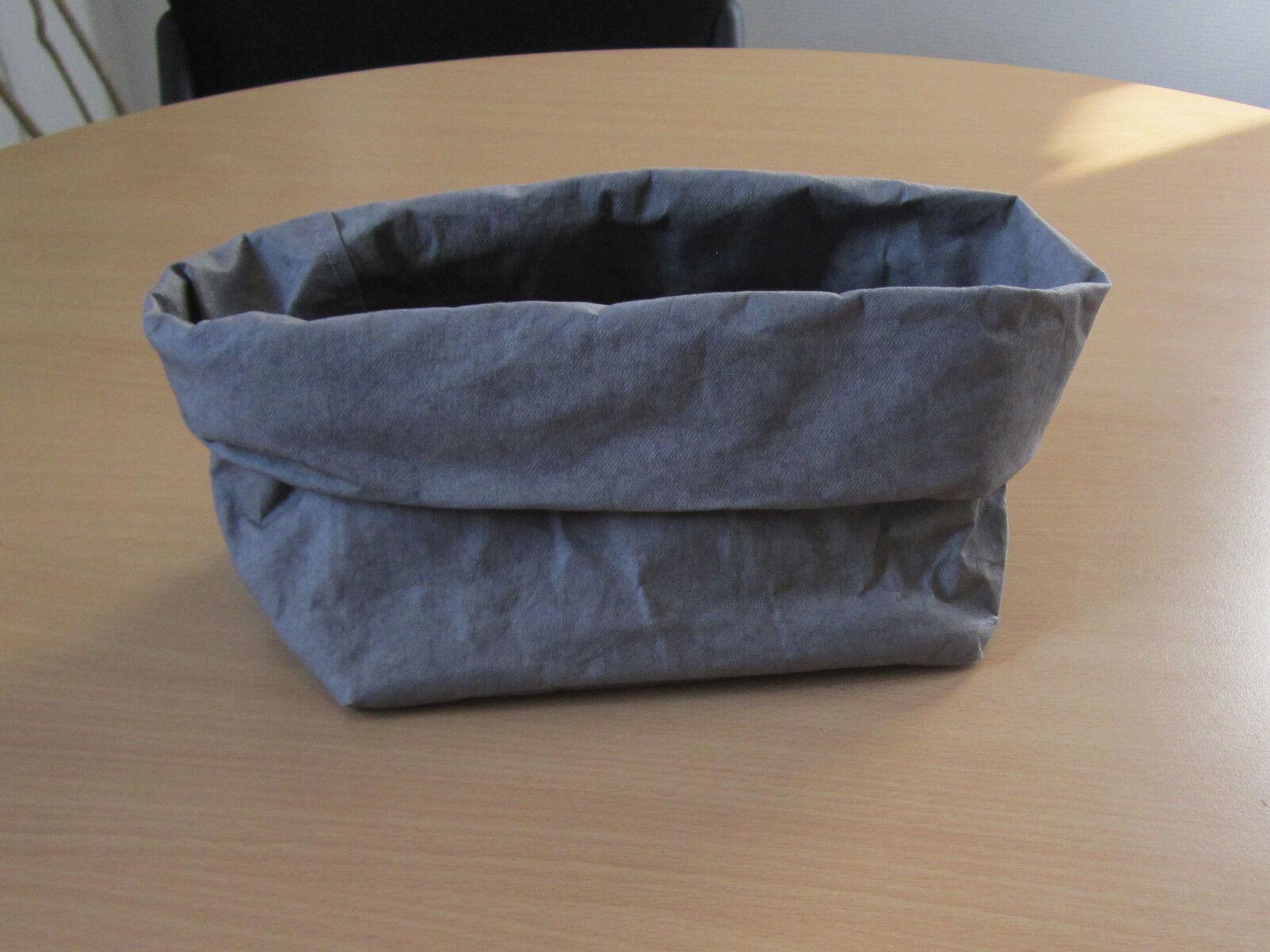 UASHMAMA Paper Bag dark grau grau Papiertasche Aufbewahrung Beutel 13x19  P | Verschiedene Arten und Stile