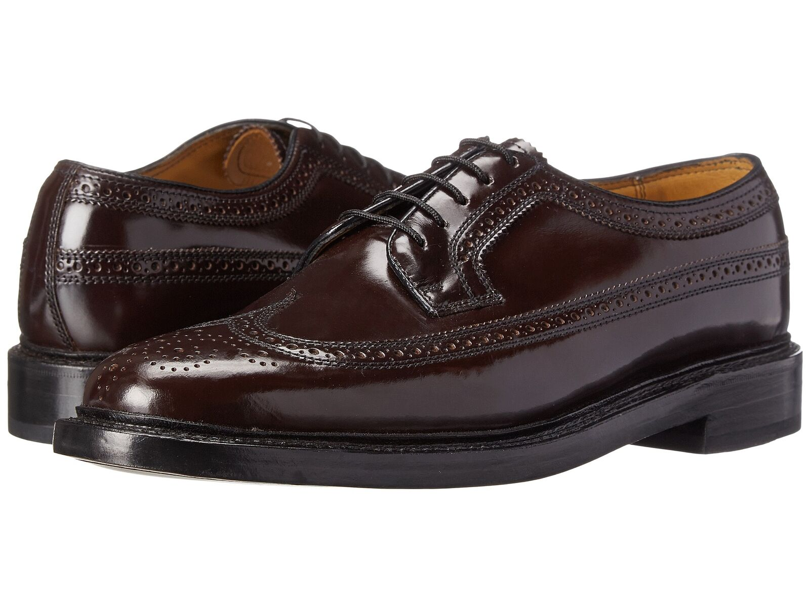 Homme Florsheim Kenmoor Bout D'Aile En Cuir Bordeaux Chaussures 17109-05