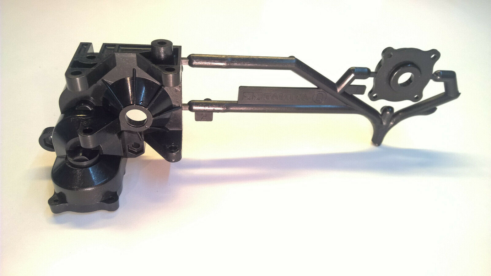 Vintage 58059 Tamiya Porsche 959 Rare Gearbox Front Right Side D2 and Cover D1