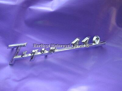 one authentic new CHROME T110 TRIUMPH Tiger 110 SIDE PANEL BADGE part no 82-4664