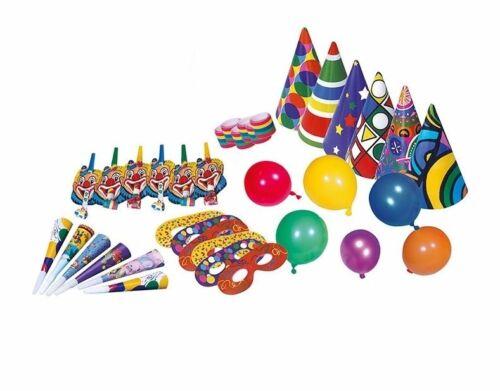 Set 36 tlg Geburtstags Party Mottoland 642965 Masken Luftschlangen ballons