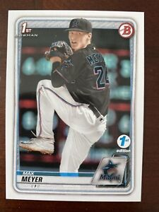 2020 Bowman Draft First Edition Max Meyer First Bowman! 3rd Overall!