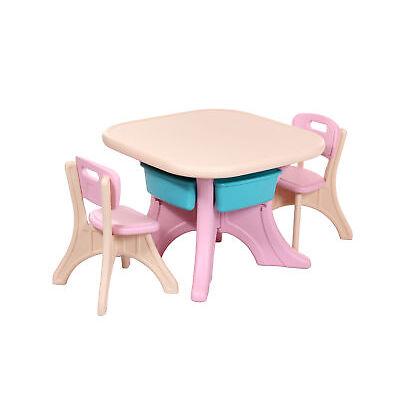 Maltisch Spieltisch Basteltisch Sitzgruppe Kinder versch.Farben Baby Kinderbett