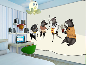 3D Simple Animal Painting 3317 Wall Paper Wall Print Decal Wall AJ WALLPAPER CA
