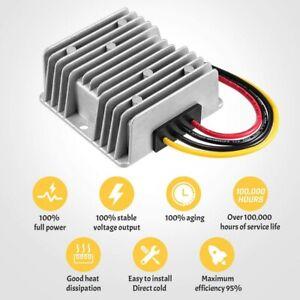 Voltage Reducer Regulator DC 36v - 48v 240 Watt 20 Amp to 12v for Golf Cart EZGO