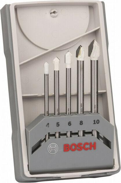Bosch 5 Piece Drill Bits SET CYL-9 Ceramic Tile Drill T/_RUB