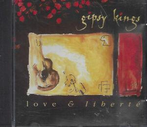 CD-Compact-disc-GIPSY-KINGS-LOVE-amp-LIBERTE-039-usato