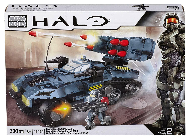 Mega Bloks 97072 Halo CoGrün Ops UNSC Wolverine