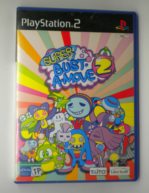 SUPER BUST A MOVE 2  SONY PS2 PLAY STATION PS 2 INV-3337