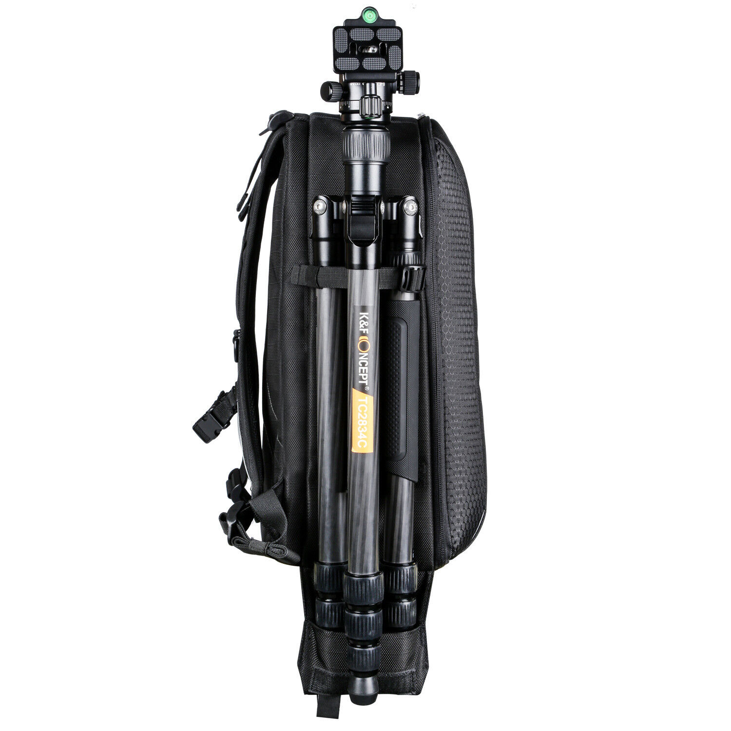 K&F Concept Camera Backpack Bag Waterproof Case W/Rain Cover for Sony Nikon DRSL
