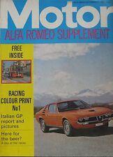 Motor magazine 11/9/1971 featuring Audi road test, Alfa Romeo, Wartburg Knight