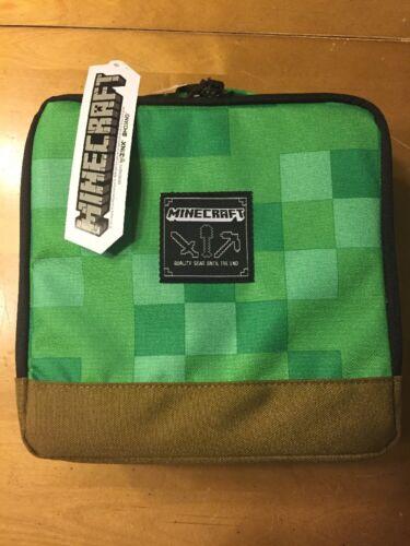NWT Minecraft Game School lunch Box Bag Boy Girl