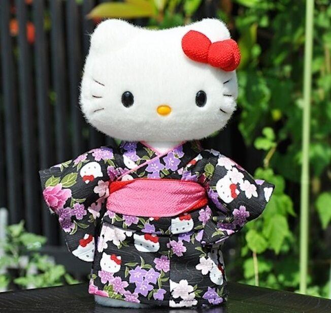 Hello Kitty Japan Sanrio Limited  Plush bambola Rare Kimono Stuffed Kawaii Cute nuovo  lo stile classico