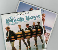 BEACH BOYS - LIVE AT KNEBWORTH 1980: PROMO 2 CD SET / GOD ONLY KNOWS, LADY LYNDA
