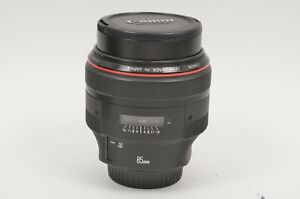 EXC-USA-CANON-EF-85mm-f1-2L-II-USM-LENS-CAPS-VERY-CLEAN-amp-SHARP