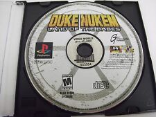 Duke Nukem: Land of the Babes (Sony PlayStation 1, 2000) PS1 DISC ONLY TESTED