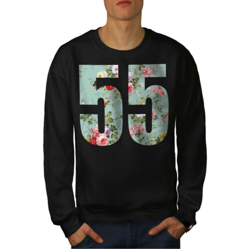 Twins Casual Pullover Jumper Wellcoda Numbers Ornament Mens Sweatshirt