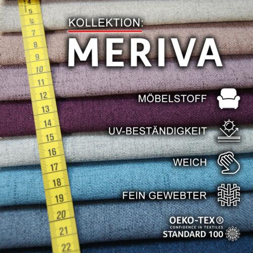 Polsterstoff Meriva Meterware Möbelstoff Bezugstoff Webstoff Strukturstoff
