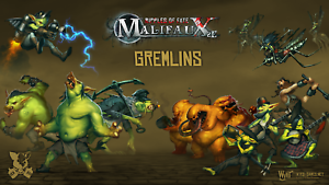 WYRD MINIATURES - MALIFAUX - GREMLINS - VARIOUS CHARACTERS AVAILABLE