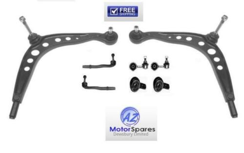 BMW E30 ARMS BUSHES OUTER TRACK ROD ENDS ANTI ROLL BAR LINKS SET