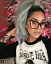 FEARLESS-Women-Eyeglasses-CAT-EYE-Clear-Lens-Shadz-Metal-ARMS-Glasses-Oversized thumbnail 5