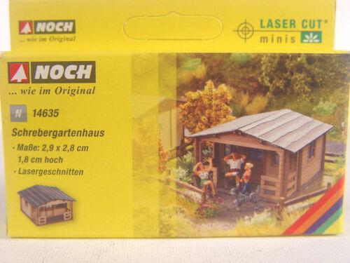 Schrebergartenhaus-Cabane de jardin-encore Lasercut Construction Piste N 1:160 - 14635 #e