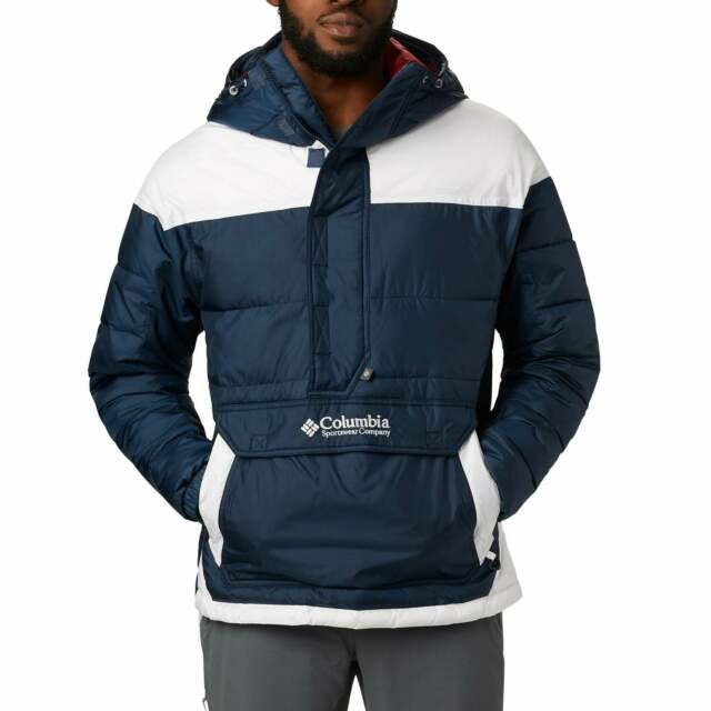 COLUMBIA TIMBERLINE RIDGE PARKA JACKET IN NAVY NAVY