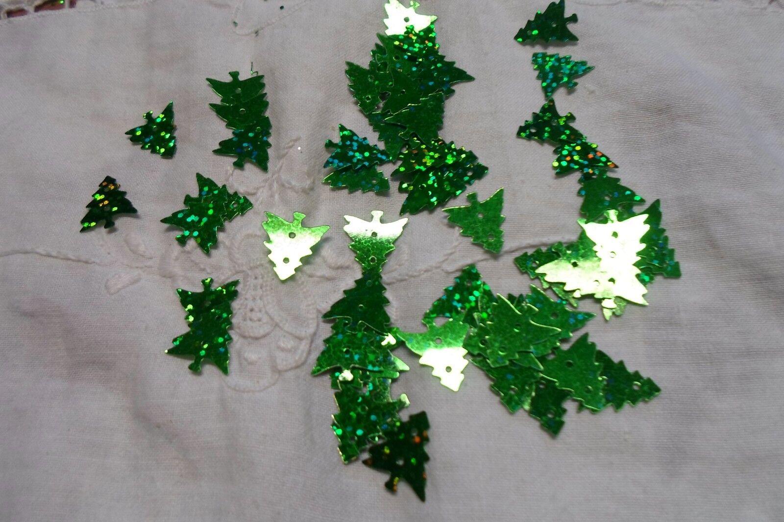 1500 1500 1500 ALBERO  COL verde   PAILLETTES   MM 18 DECORARE FESTE LA TAVOLA 142d6d