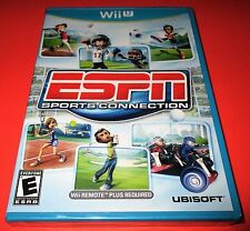 ESPN Sports Connection Nintendo Wii U *Factory Sealed! *Free Shipping!