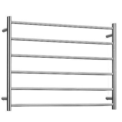 Electric Towel Warmers 6 Bars Heated Towel Rack Polished Chrome Socks Racks 75W EBay