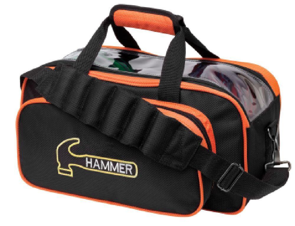 Hammer 2 Ball Shoulder Tote Bowling Bag orange NEW