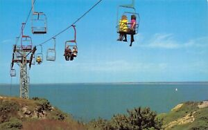 Isle-of-Wight-Postcard-The-Chairlift-Alum-Bay-DT1