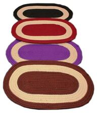Jute Door Mat - Pack Of 4 (Assorted Colors)