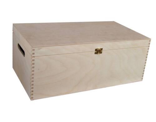 GRANDE pianura Legno Ricordo Souvenir Scatola dei ricordi CRAFT STORAGE BOX P47