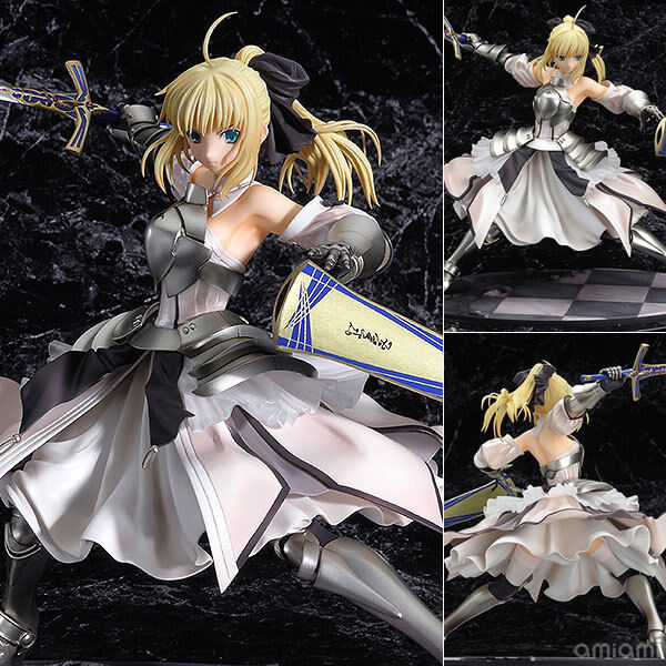 FATE  STAY NIGHT- SABER LILY 23 CM DISTANT AVALON ESC. 1 7 IN BOX 9