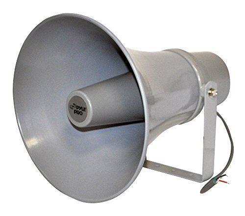 Pyle 11-in Indoor Outdoor 70 Volt 30 Watts PA Horn Speaker