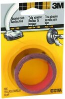 3M- Cloth Sanding Roll - 03131 - 1 in x 6 ft - Fine - 60440188245